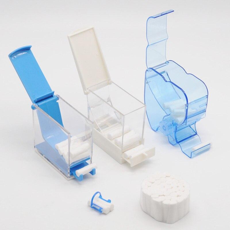 Dental Lab Multi/Type Colors Orthodontic Dentistry Cotton Roll Dispenser Holder