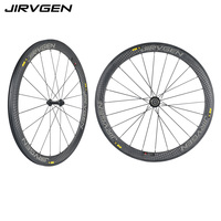 2018 new Road bike 50mm clincher 12k armor 700c wheel carbon road wheelset black / White / gray made in china