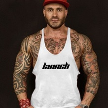 New Summer Print Singlets Mens Tank Tops Shirt Man Gyms Bodybuilding Equipment Fitness Stringer Male Crossfit Sexy Vest Clothes