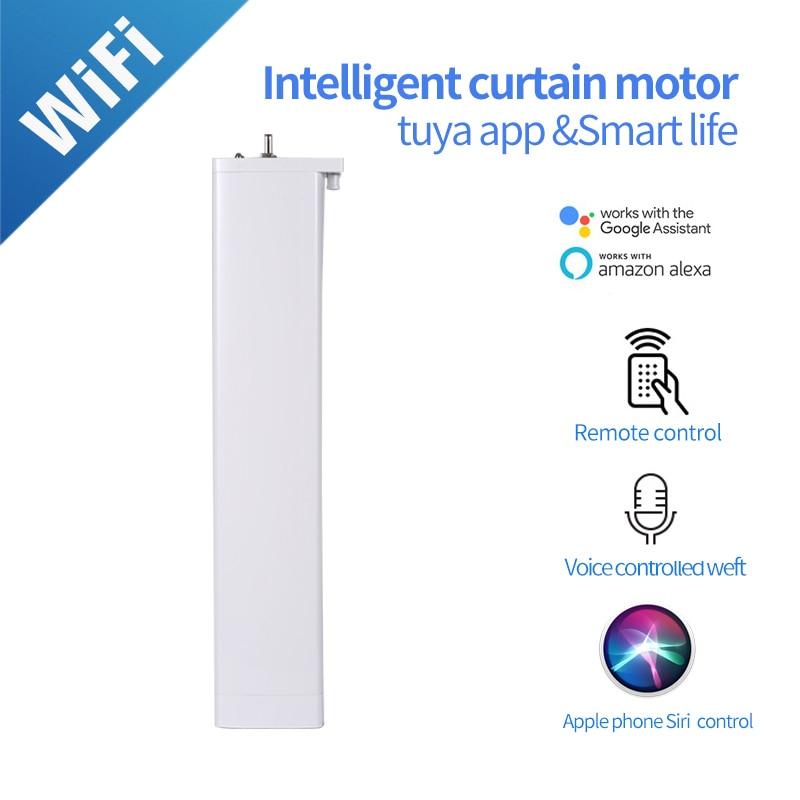 Smart Curtain Motor   Wifi  Motor For Tuya Smart Home Device Wireless Remote Control Tuya APP Work With Alexa And Google Home