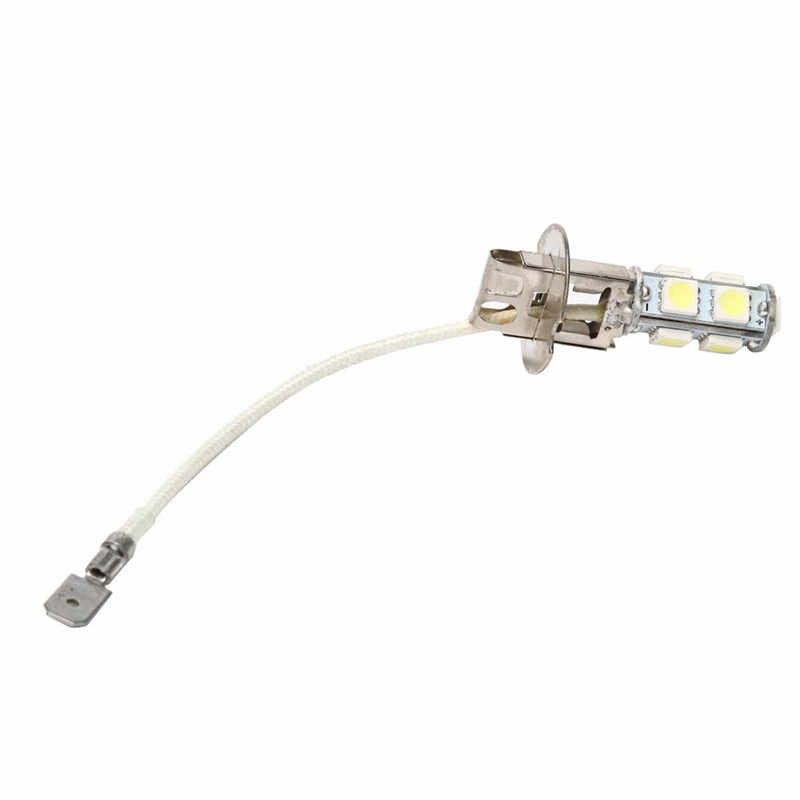 Car Light 2Pcs White H3 6500K Lens 4.5W 12V Fog Headlight 6500K Bulb Lamp dropship 19F28