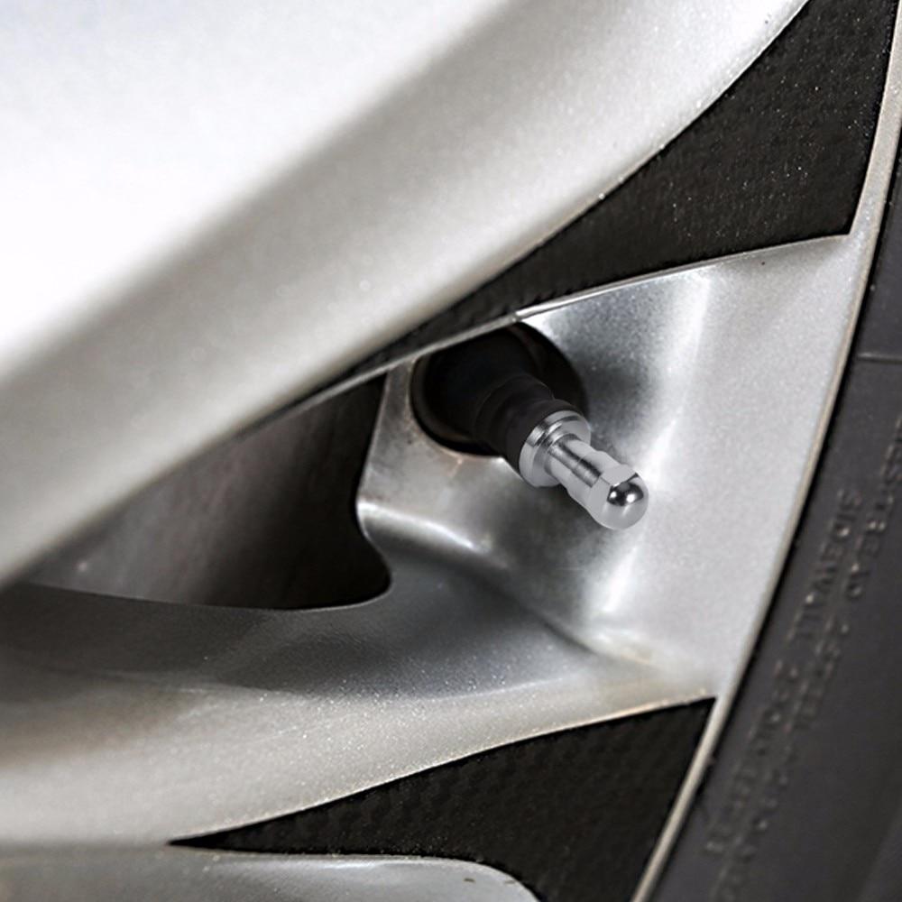 4 шт. бескамерный, автомобильный вентиль шины колеса стволовых металлический болт в высоком давлении заподлицо заднего заподлицо шины клапан