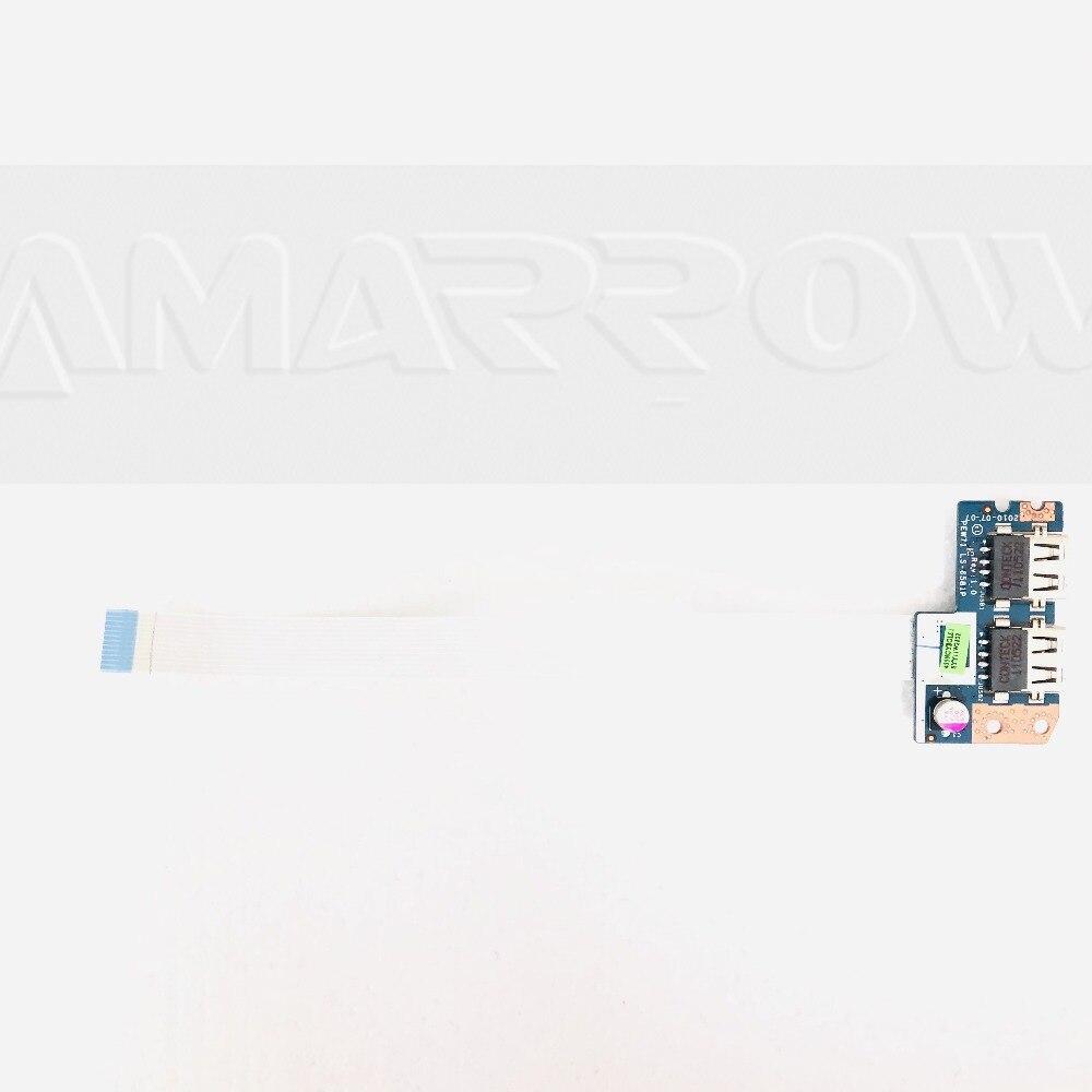 Original frete grátis para acer 5742 5741 5741g 5552 placa usb LS-6581P