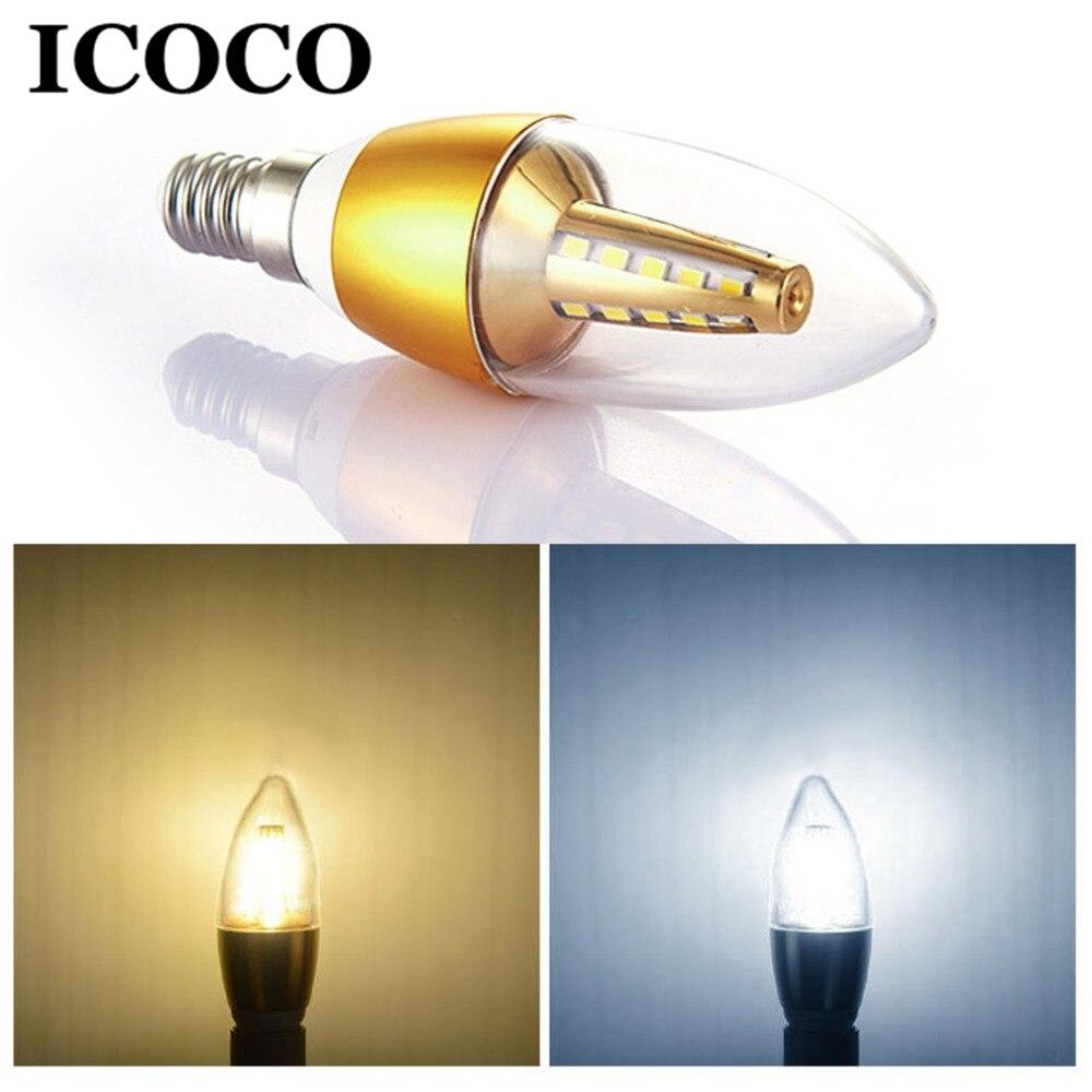ICOCO LED Light Bulb Aluminum 360 Degree Display Lamp Pendant Light Accessories Home Decoration Lamps White/ Warm white Sale
