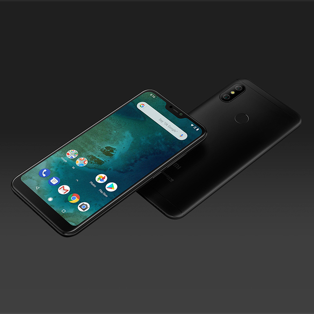 """Global Version Xiaomi Mi A2 Lite 3GB 32GB Mobile Phone 5.84"""" Full Screen Snapdragon 625 12MP Dual Camera Android One Android8.1"""