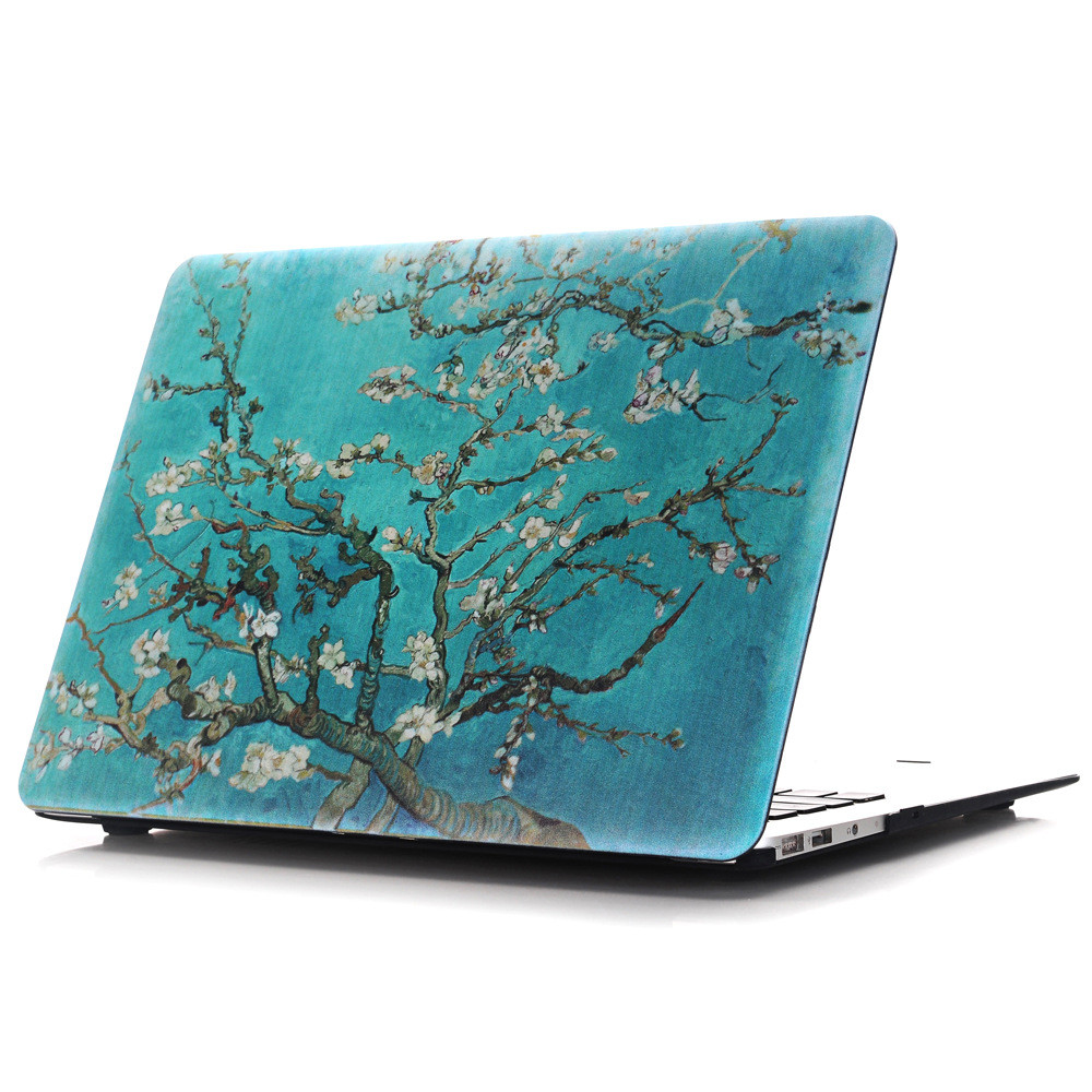 Colorful Painted Laptop Case Computer Protective Cover for Macbook Air Pro Retina 11 12 13 15 inch Exquisite Notebook Shell