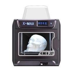 QIDI Impressora de Grande Porte 3D X-max 300*250*300 impresora 3d PLA TPU PC PETG Nylon de fibra de carbono