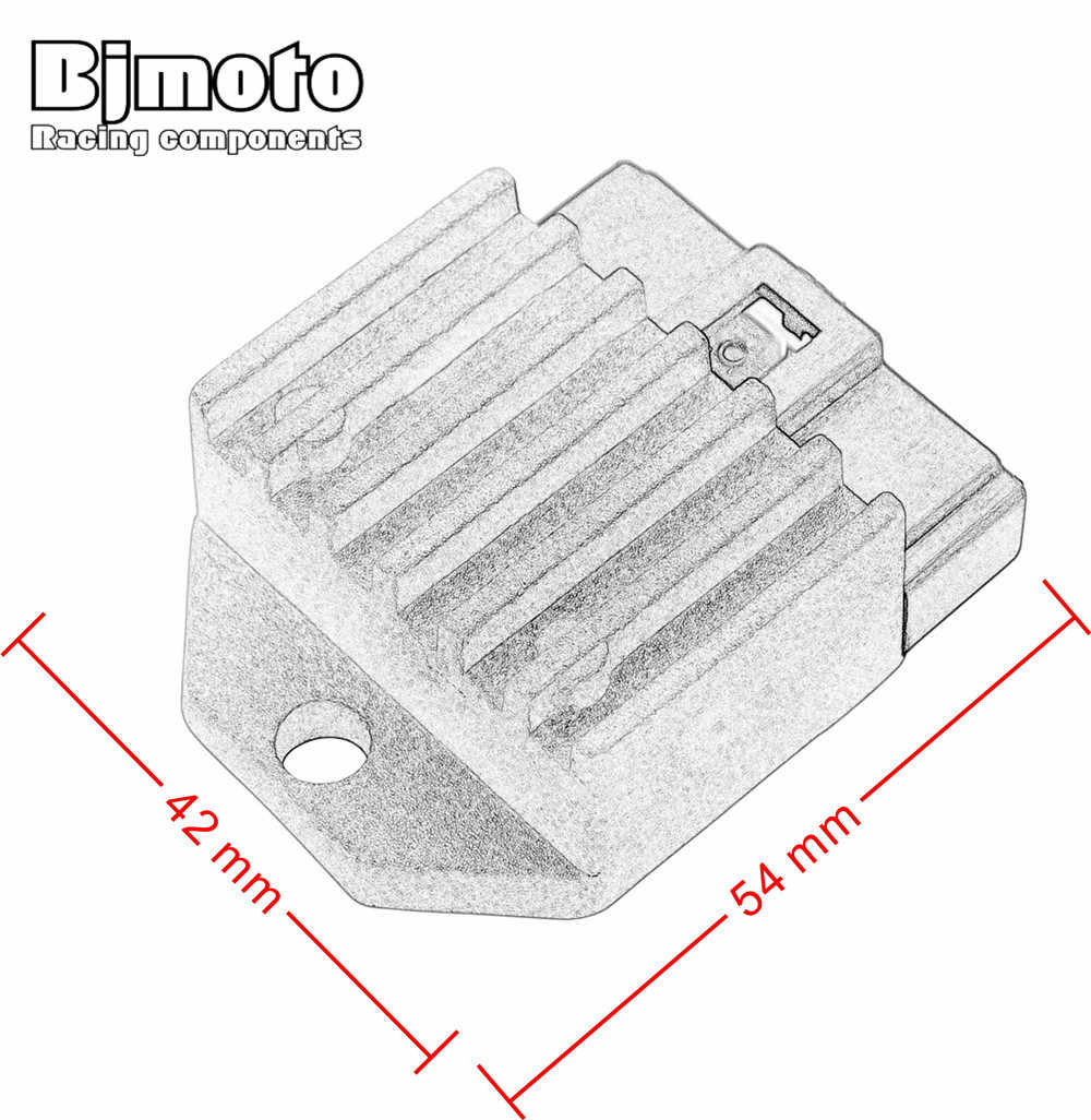 bjmoto motorcycle metal voltage regulator rectifier for ktm 125 200 250  300 380 400 450 520