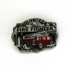 Западный Классический с ремешком, пряжкой пожарный человек Волонтер Пожарный