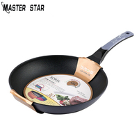 Master Star 20/24/26/28/30CM Aluminum Alloy Non stick Frying Pans Use For Gas And Induction Cooker Skillets
