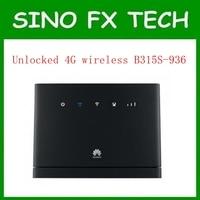 Разблокирована 4 г беспроводной шлюз 4 г LTE Открытый CPE маршрутизатор 150 Мбит/с Huawei b315s 936