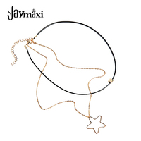 Jaymaxi Wild Star Necklace Europe And The United States Fashion Simple Multi - Layer Geometric Fine Necklace N51534