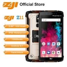 HOMTOM ZOJI Z11 10000 mAh 4 GB 64 GB 5.99 inç Sağlam Cep Telefonu IP68 Su Geçirmez 18:9 Android 8.1 16MP yüz Kilidini 4G Smartph...