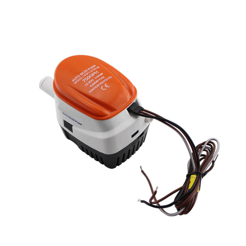 Image 5 - 750 GPH Automatic Bilge Pump 12V Marine Boat Submersible Pump Water Drain Pump-in Marine Pump from Automobiles & Motorcycles