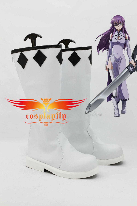 Akame ga Kill Sheele Satin Cosplay Shoes Boots Custom Made Adult Halloween Carnival Christmas For Costume