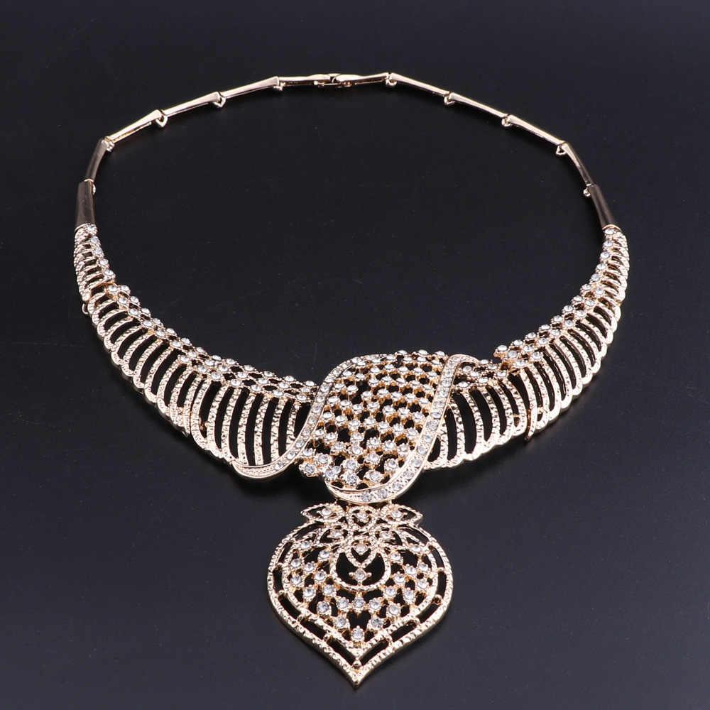 OEOEOS مجوهرات الأزياء مجموعات الخرز الأفريقي مجموعة مجوهرات النساء الزفاف Ethiopian Eritrean الذهب اللون الزفاف بيان مجموعة مجوهرات