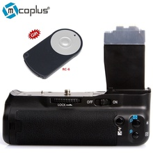 Mcoplus BG-550D Batterie Vertical Holder Grip pour Canon EOS 550d 600d 650d 700d T5i T4i T3i T2i Caméra comme BG-E8 Meike MK-550D POIGNÉE de