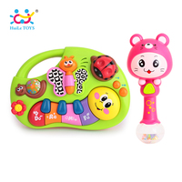 Develop Baby Intelligence Baby Toy Gifts Kids Musical Educational Playing Animal Farm Piano Music Toys