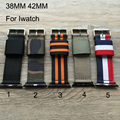 Special design,Canvas sport Apple Watch Belt, Nylon 38MM 42MM Watch Band, Suitable For Iwatch,Free Shiping