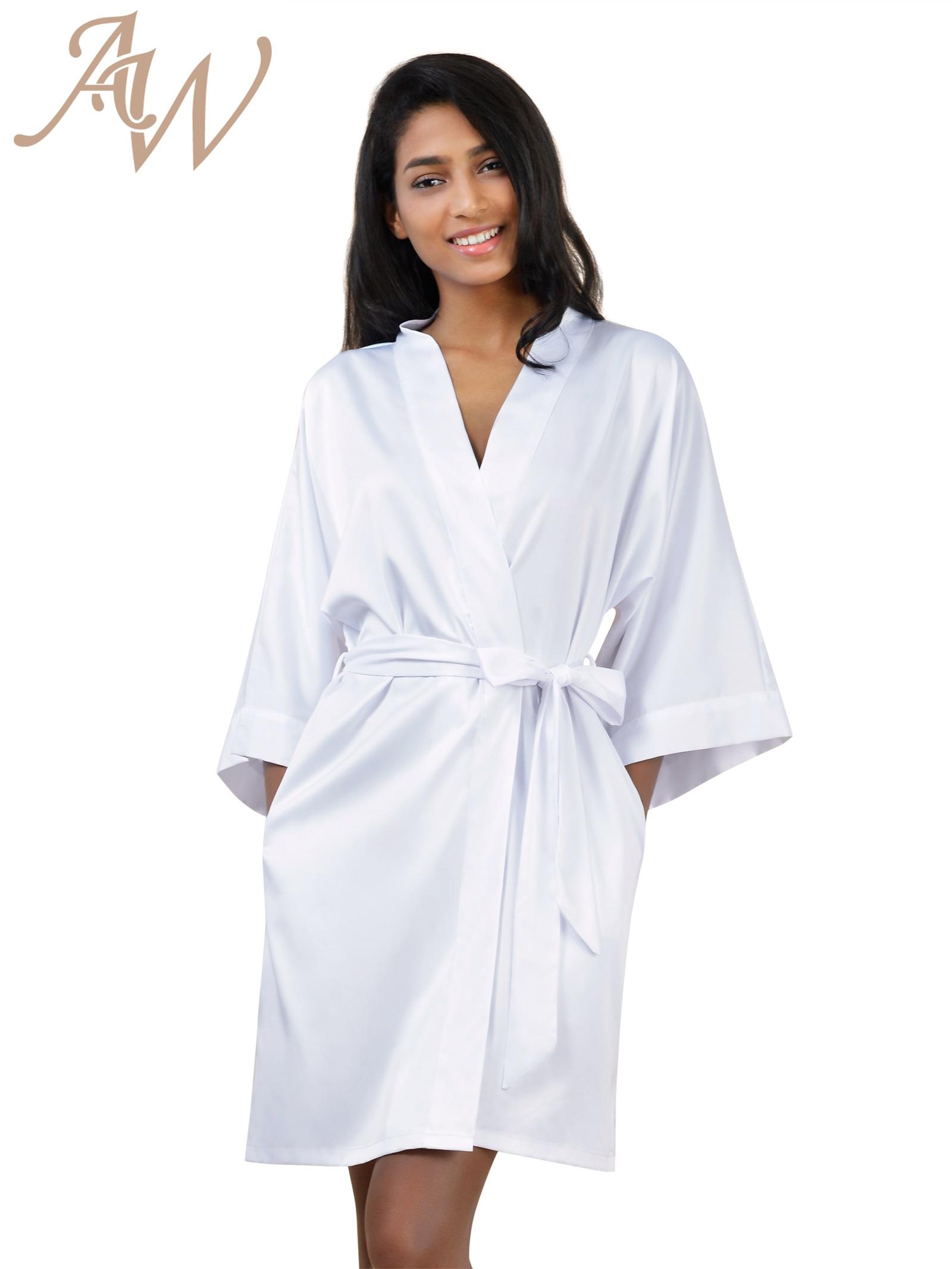 Satin Robes De Chambre Promotion Achetez des Satin Robes De