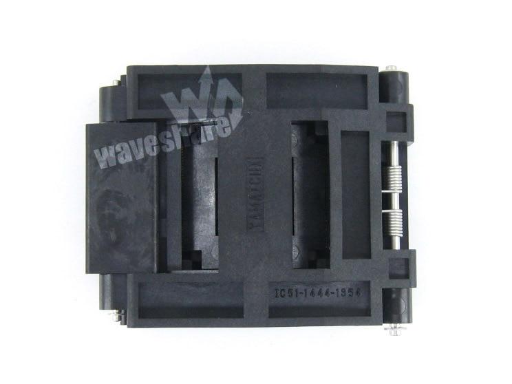 все цены на Module Qfp144 Tqfp144 Fqfp144 Pqfp144 Ic51-1444-1354-7 Yamaichi Qfp Test Burn-in Socket Programming Adapter 0.5mm Pitch онлайн