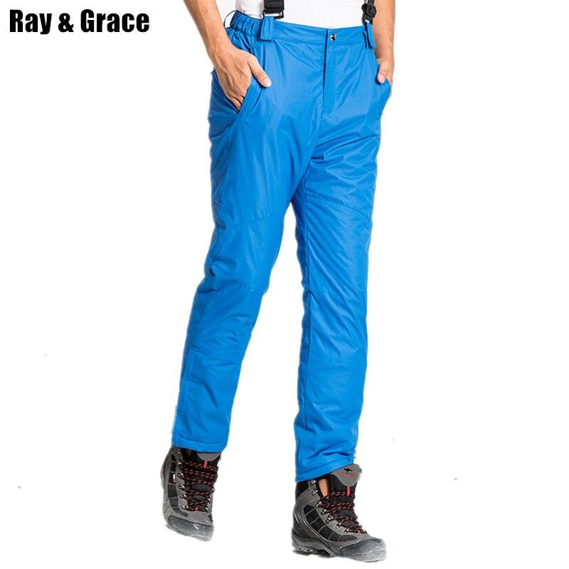 Pantalon d'hiver RAY GRACE pantalon de Ski homme pantalon de sport neige pantalon de Ski Snowboard homme imperméable coupe-vent vêtements d'extérieur homme