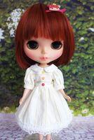 Blyth Doll Dress Wedding Dress Outfit Cute Pullip Handmade Azone
