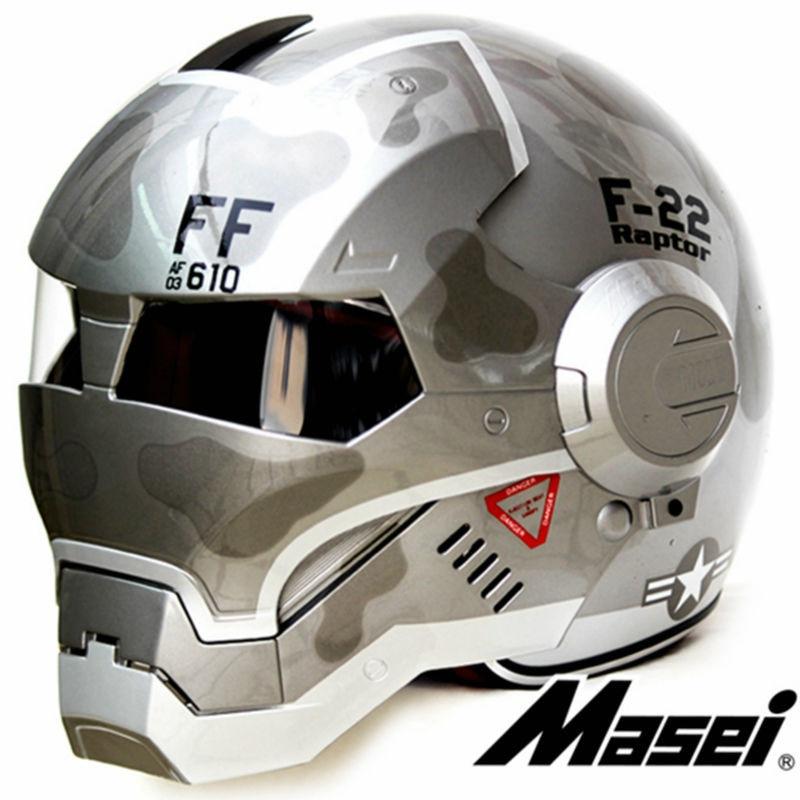 Masei 610 ironman motosiklet kaskaları üçün duman rəngləri - Motosiklet aksesuarları və ehtiyat hissələri - Fotoqrafiya 4