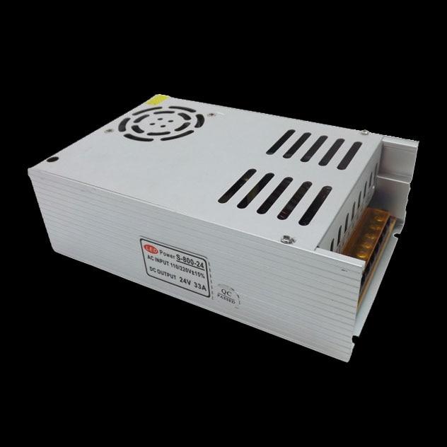 ac-dc Power Supply 24V 33A 800W PSU AC DC Converter 220v 110V LED Driver DC24V Switching Power Supply For Led Light new model ac dc power supply 12v 66a 800w ac dc converter 220v 110v led driver dc12v switching power supply for led light cctv