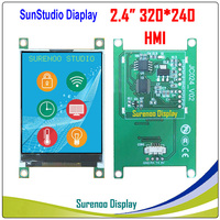 """2.4"""" 320*240 HMI Intelligent Smart USART UART Serial TFT LCD Module Display Panel for Arduino without Touch Panel"""