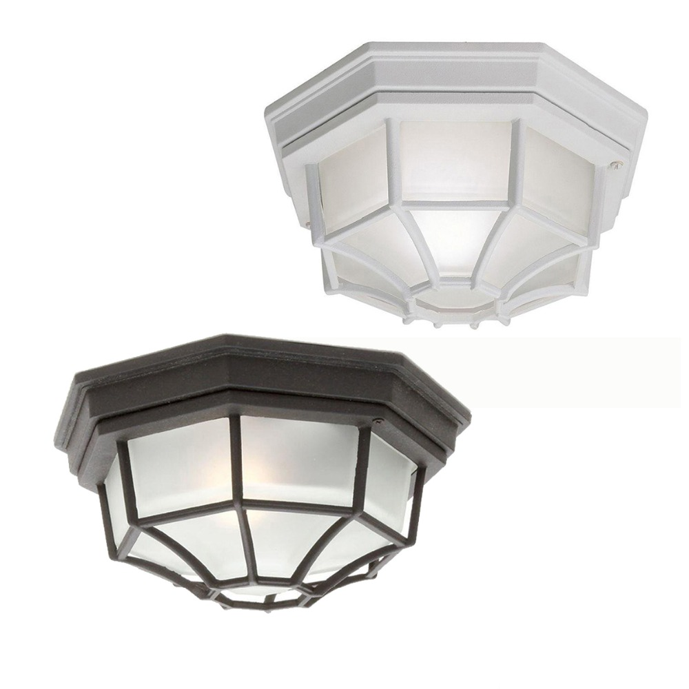Countryside Octagon Wall Mounted LED Ceiling Light Kitchen/Bedroom ...