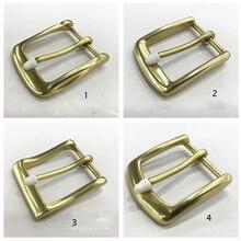 DIY leather craft women men belt pin buckle solid brass material 5pcs/lot wholesale inner 40mm