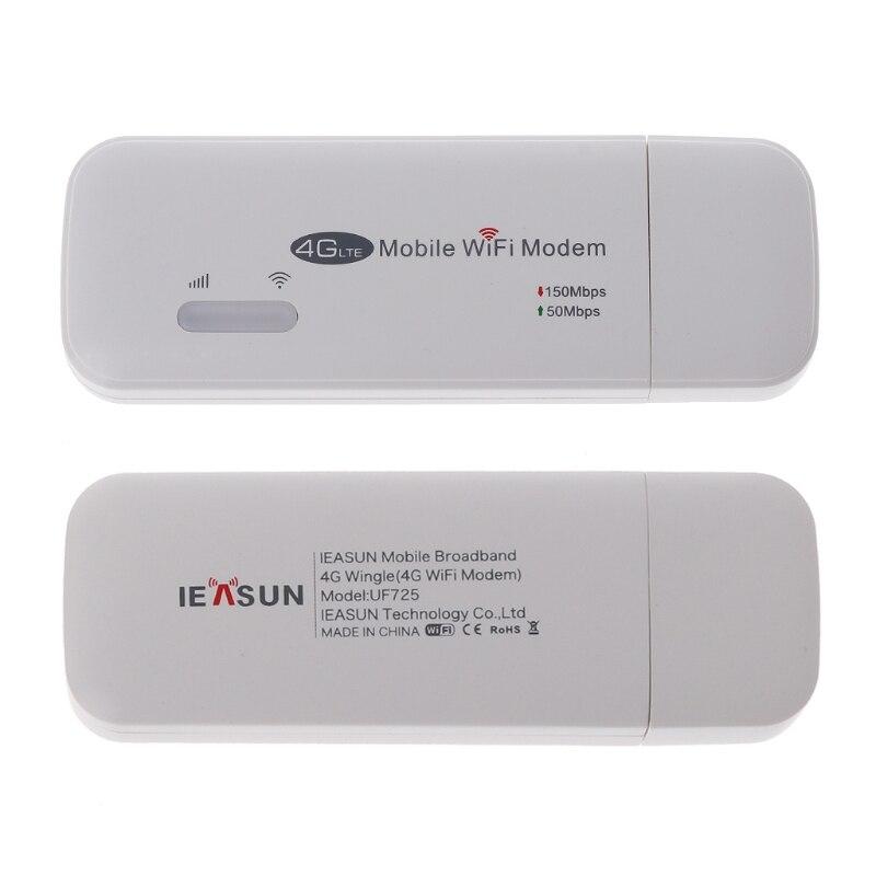 4G FDD LTE Wi-Fi Router Unlocked Pocket Network Hotspot USB Wifi Routers Wireless Modem with SIM Card Slot UF725 X6HA