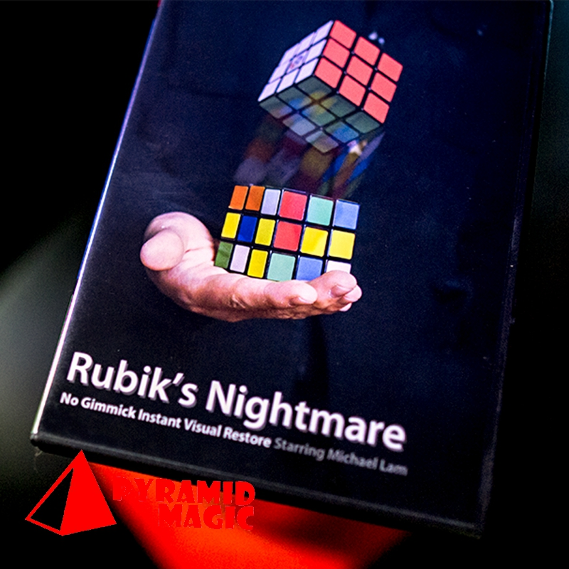 Rubik's Nightmare By Michael Lam And SansMinds Magic  Close-up Stage Street Magic Tricks
