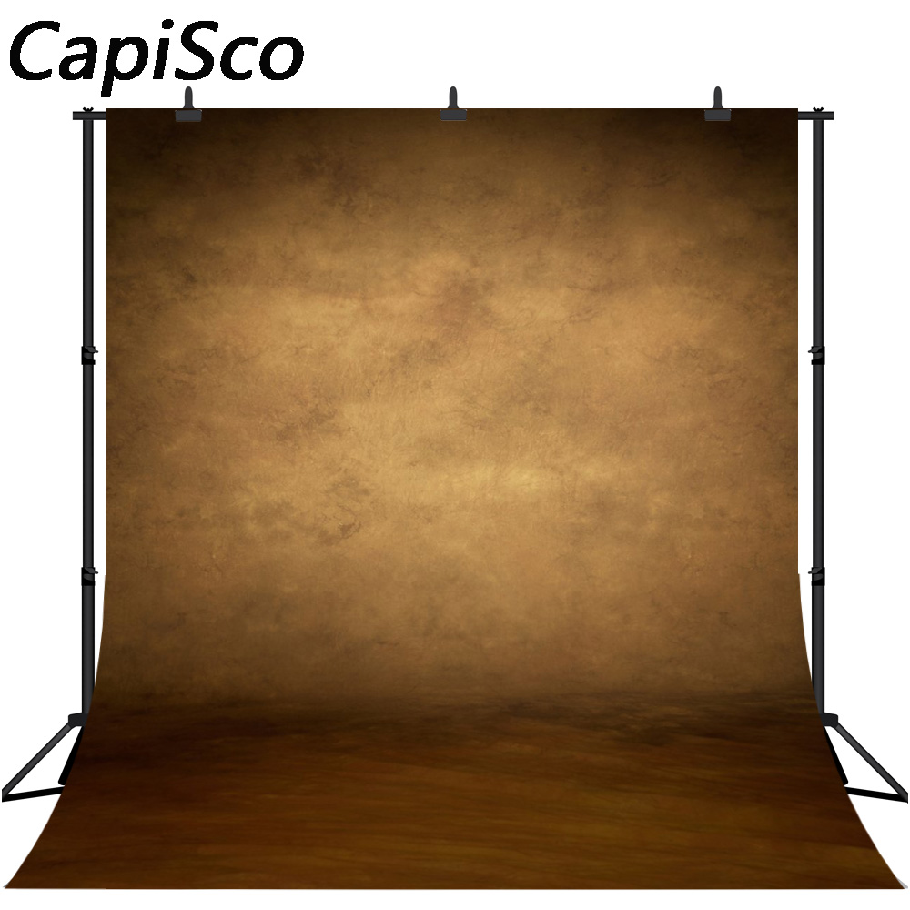 CapiSco Photography backdrops old master style texture abstract retro Brown color background for photo studio