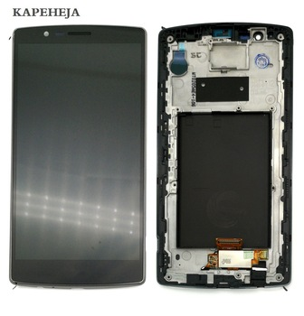 5.5 For LG G4 H815 H810 H811 LCD Display Touch Screen Digitizer Assembly with Bezel Frame 5 0 for lg magna g4c h525n h525 h522y h520y h500 h502 lcd display touch screen digitizer assembly with bezel frame