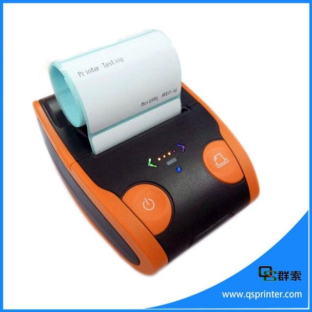 qs 5806 portable 2 inch bill printer bluetooth label printer machine