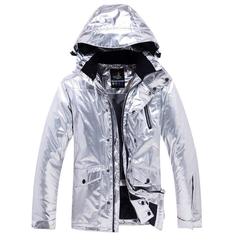 Brillant hommes et femmes neige Costume vêtements snowboard vêtements imperméable Costume sports de plein air hiver Ski veste + pantalon de neige - 5