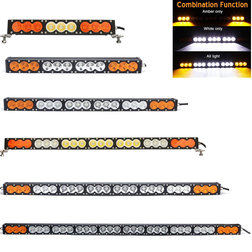 12V 24V LED Light Bar 90W 120W 150W 180W 210W 240W 270W 300W White Amber Combo 4x4 Offroad Barra Car LED Work Driving Lamp12V 24V LED Light Bar 90W 120W 150W 180W 210W 240W 270W 300W White Amber Combo 4x4 Offroad Barra Car LED Work Driving Lamp
