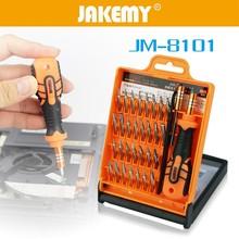 JAKEMY 33 in1 Multifunctional Precision Screwdriver Kit Mini Multi-shape Screwdriver Bits Hardware Repair Tools Set цена в Москве и Питере