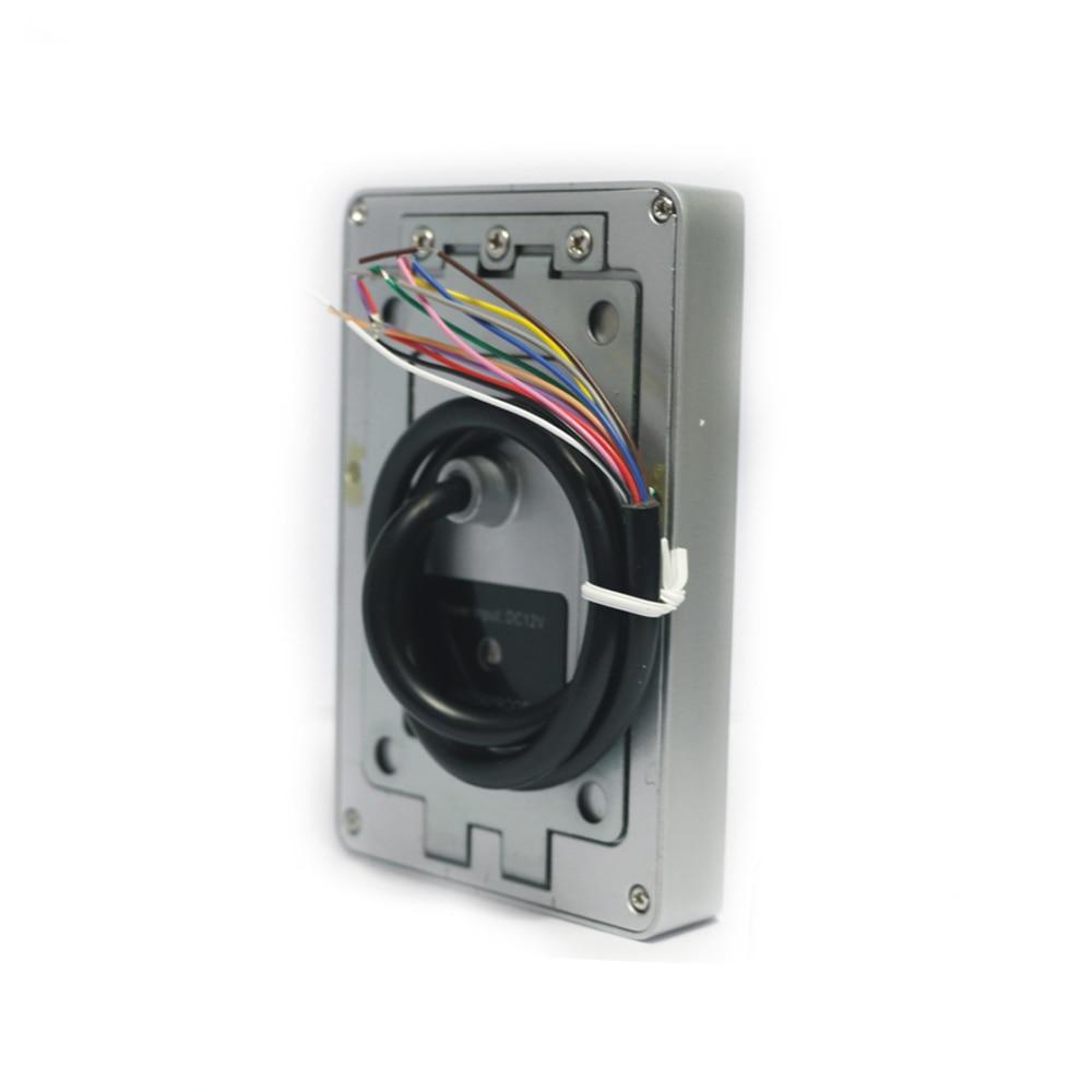 Metal kabuk Su Geçirmez / dokunmatik dijital anahtar 125 KHZ RFID - Güvenlik ve Koruma - Fotoğraf 4