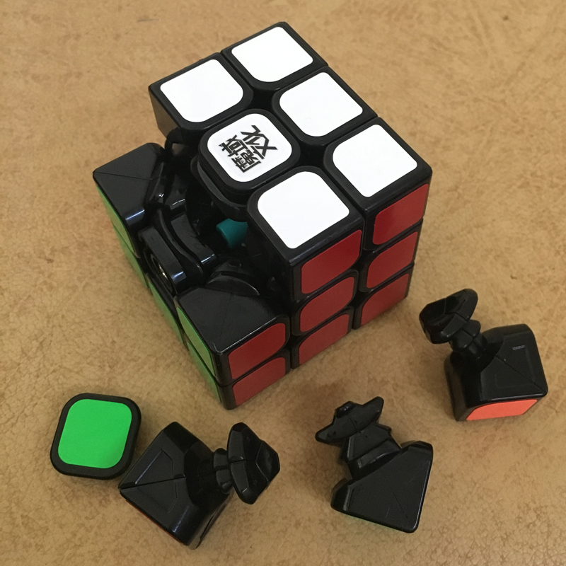 Original Moyu Aolong V2 Speed Magic Cube 3x3x3 3Layer Smooth Magic Cube Professional Competition Puzzle Cube