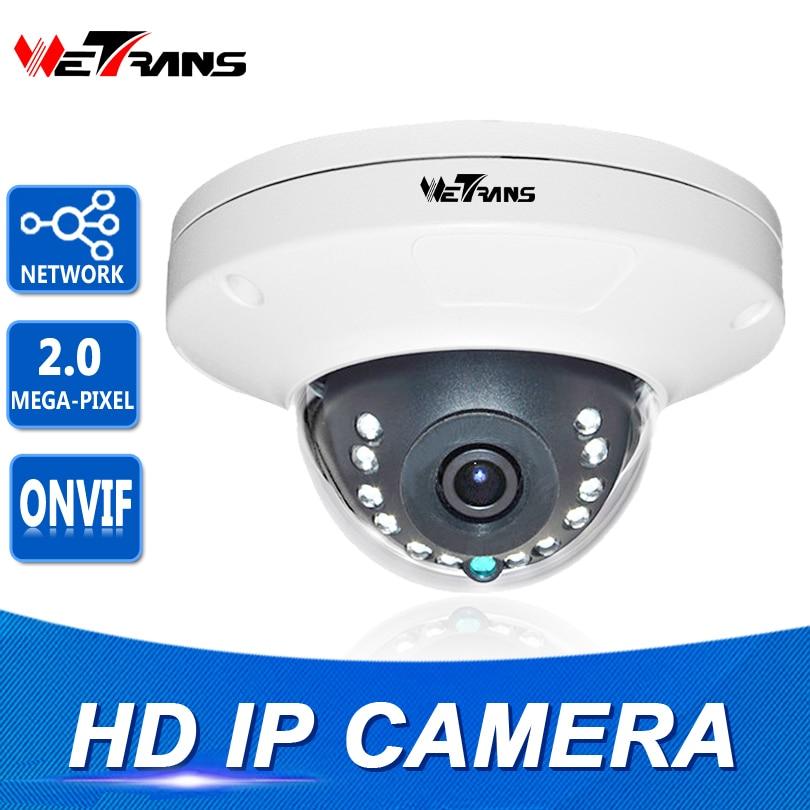 Güvenlik ve Koruma'ten Gözetim Kameraları'de Ağ Kamera IP 1080 P 8 m Kızılötesi Gece Görüş ONVIF 2MP Vandalproof 3.6mm Lens H.265 P2P HD Kapalı Dome IP Kamera Sony CMOS title=