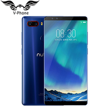 Original ZTE Nubia Z17S Mobile Phone 5.73 inch Full Screen 8GB RAM 128GB ROM Snapdragon 835 Octa Core 4 Camera 3100mAh CellPhone