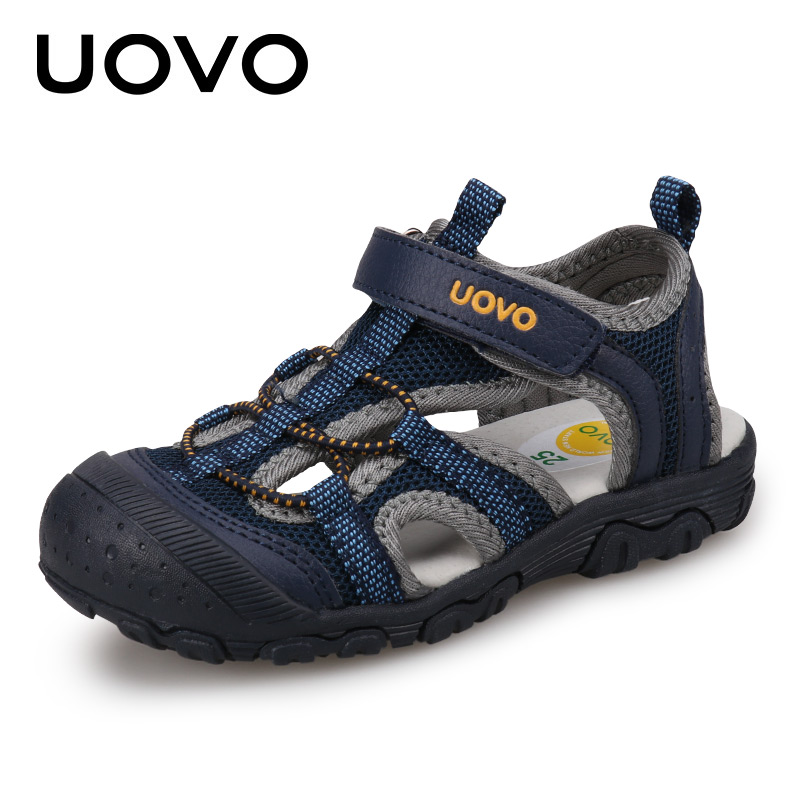 Kids Fashion Sandals 2018 New Style Color Matching Design Soft Durable Rubber Sole Comfortable Boys Sandals With #25-34Kids Fashion Sandals 2018 New Style Color Matching Design Soft Durable Rubber Sole Comfortable Boys Sandals With #25-34
