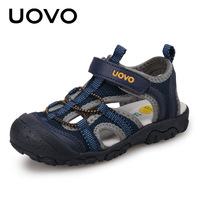 Kids Fashion Sandals 2018 New Style Color Matching Design Soft Durable Rubber Sole Comfortable Boys Sandals With #25 34