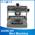PCB Milling Machine CNC 2020B DIY CNC Wood Carving Mini Engraving Machine PVC Mill Engraver Support MACH3 System