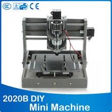 PCB Fresadora CNC 2020B DIY CNC Talla De Madera Mini Máquina de Grabado PVC Molino Grabador Admite el Sistema de MACH3