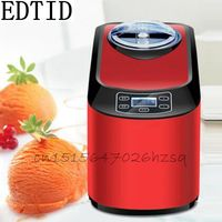 EDTID 140W 220~240V Household Electric 1.5L Ice Cream Maker Full Automatic DIY Ice Cream with cooling/insulation function