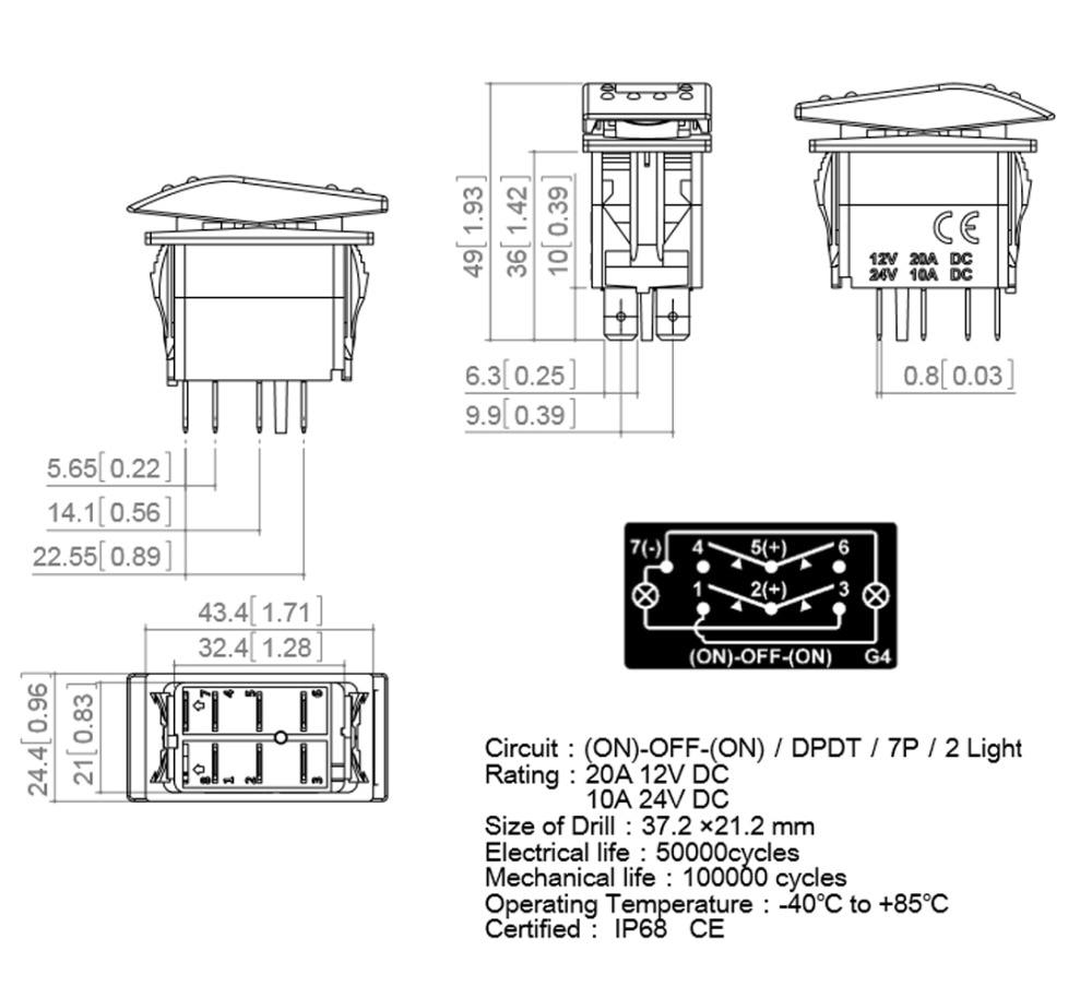 Dorable Dpdt Switch Wiring Diagram Illustration - Electrical System ...